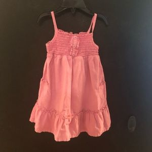 Faded Glory pink dress size 24 months